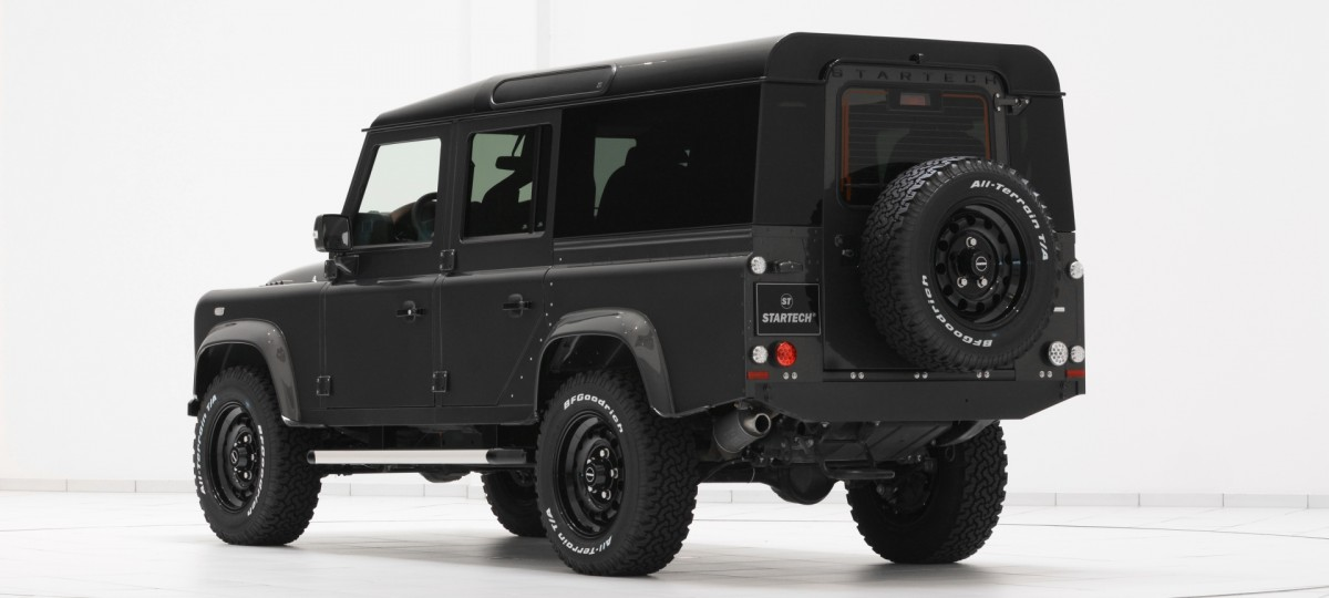 Range Rover Sort >> Land Rover Defender Tuning | STARTECH Refinement