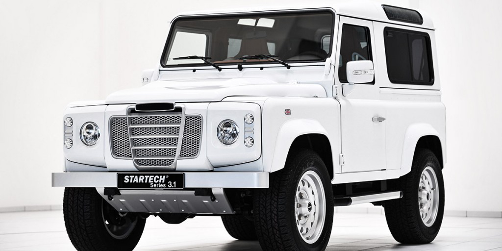 Land Rover Defender Tuning Startech Refinement