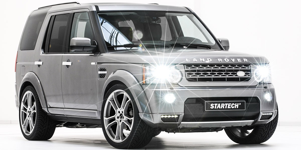 Land Rover Discovery 2016 >> Land Rover Discovery Tuning | STARTECH | STARTECH Refinement