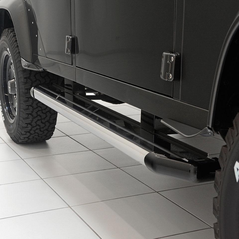 Land Rover 2010 Price: LD-320-00 STARTECH Aluminium Trittbretter (TD4)
