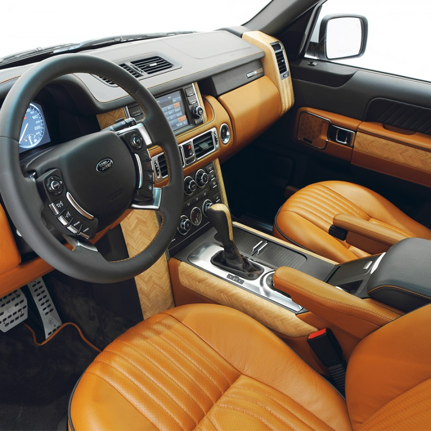 Ra 857 00 startech lederausstattung startech refinement - Range rover with red leather interior ...