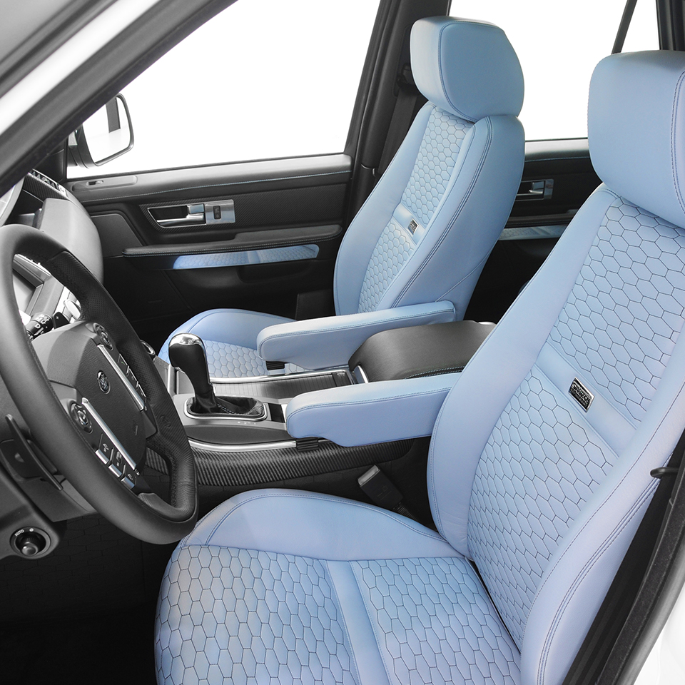 Range rover sport 2010 2013 tuning startech startech - Range rover with red leather interior ...