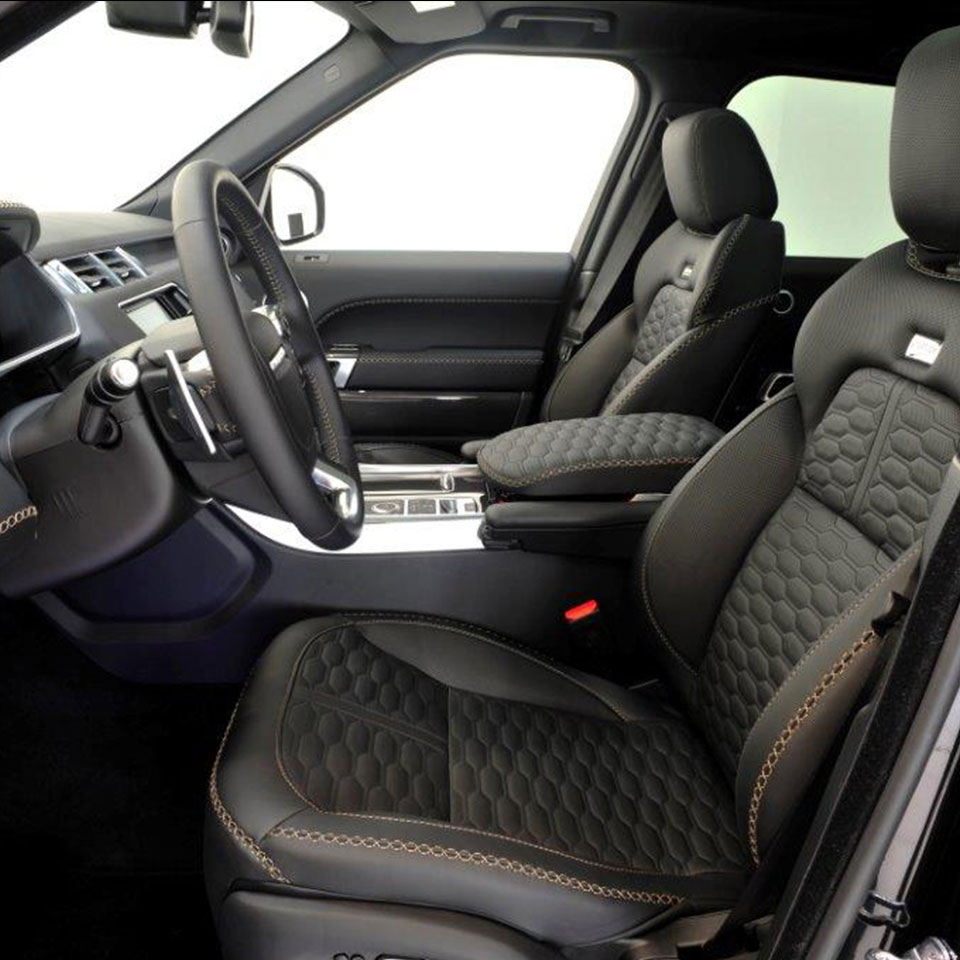 Range rover sport 2014 tuning startech startech refinement - Range rover with red leather interior ...