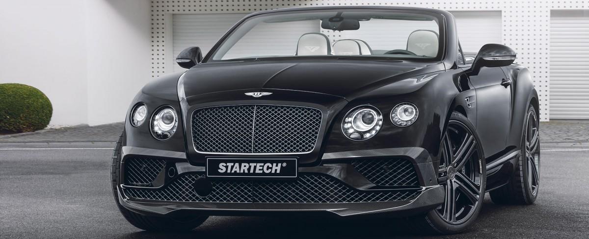 Bentley Continental GTC Tuning | STARTECH Refinement