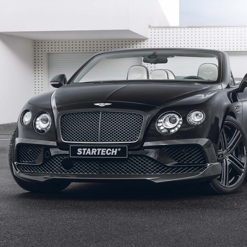 Bentley Continental Flying Spur For Sale: BY625-200-20 Carbon-Frontaufsatzelemente