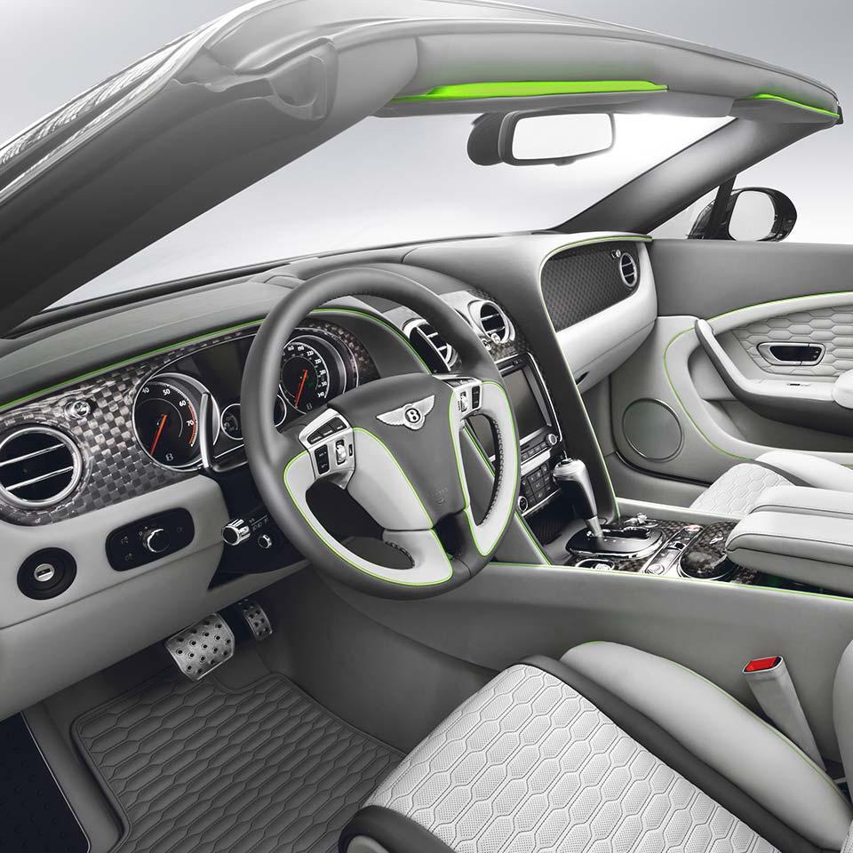 Modellbeschreibung Zum Bentley Continental Flying Spur: BY625-877-00 Carbon Interior