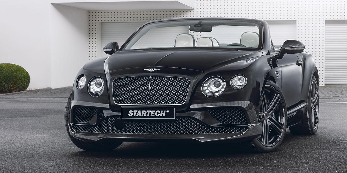 Bentley Continental Gtc Tuning Startech Refinement