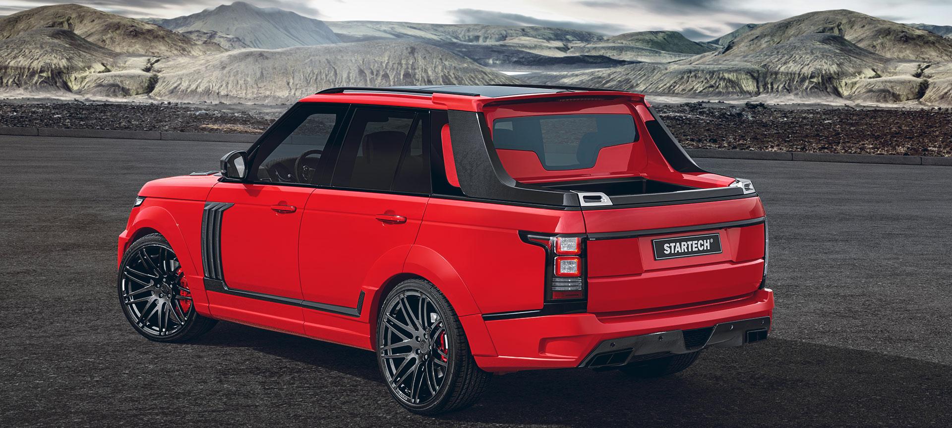 Pickup Truck 2015 Auf Range Rover Basis Startech Refinement