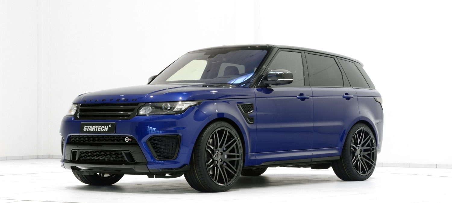 range rover sport svr tuning startech refinement. Black Bedroom Furniture Sets. Home Design Ideas