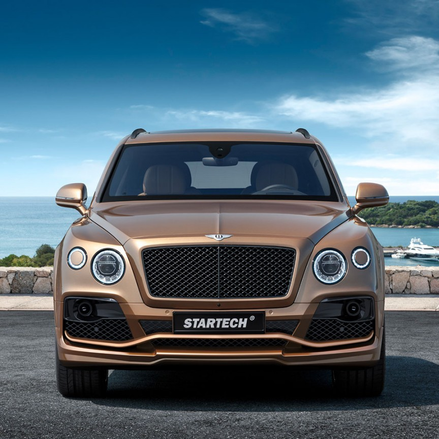Bumper Guard For Suv >> Bentley Bentayga Tuning | STARTECH Refinement