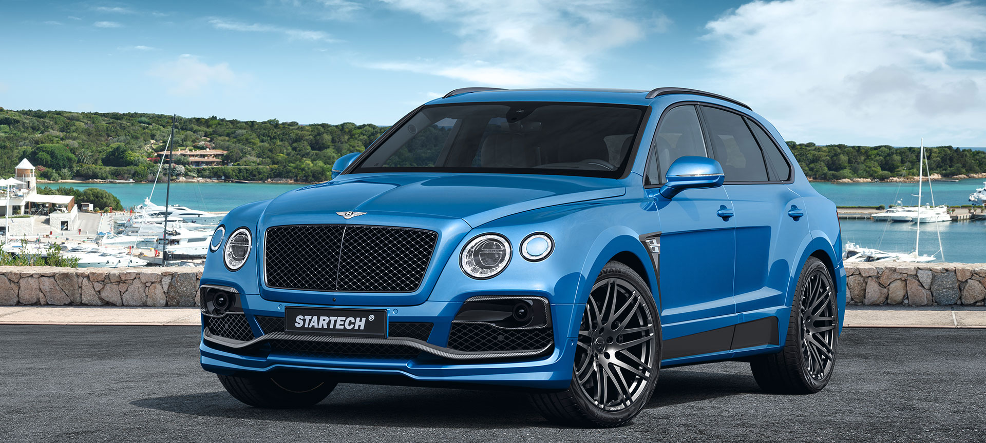 The First Further Refined Bentley Bentayga Comes From