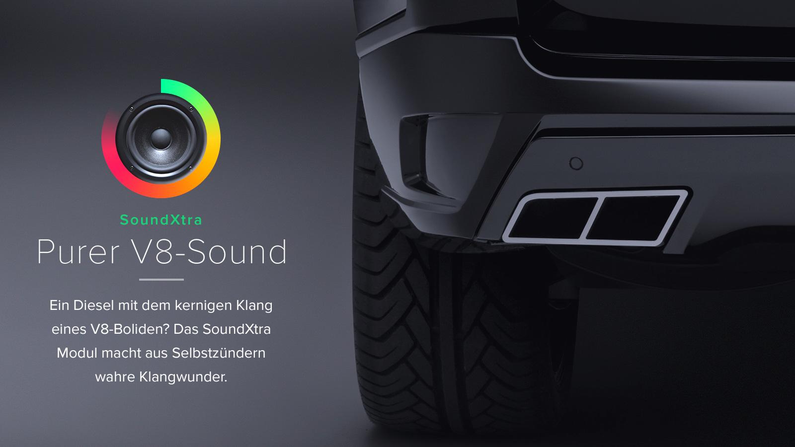 Range Rover Tuning SoundXtra Startech