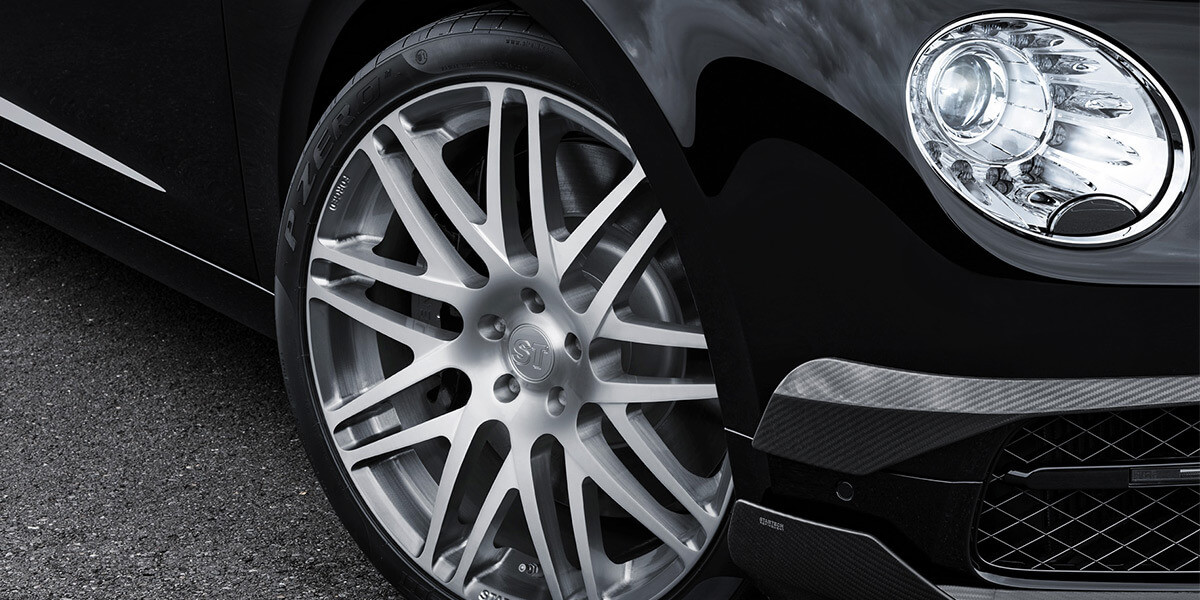 Startech Refinement - Bentley Flying Spur wheels