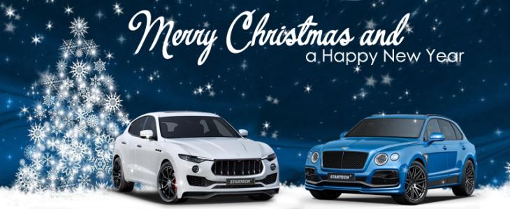 Frohe Weihnachten und ein glückliches neues Jahr 2018 ...