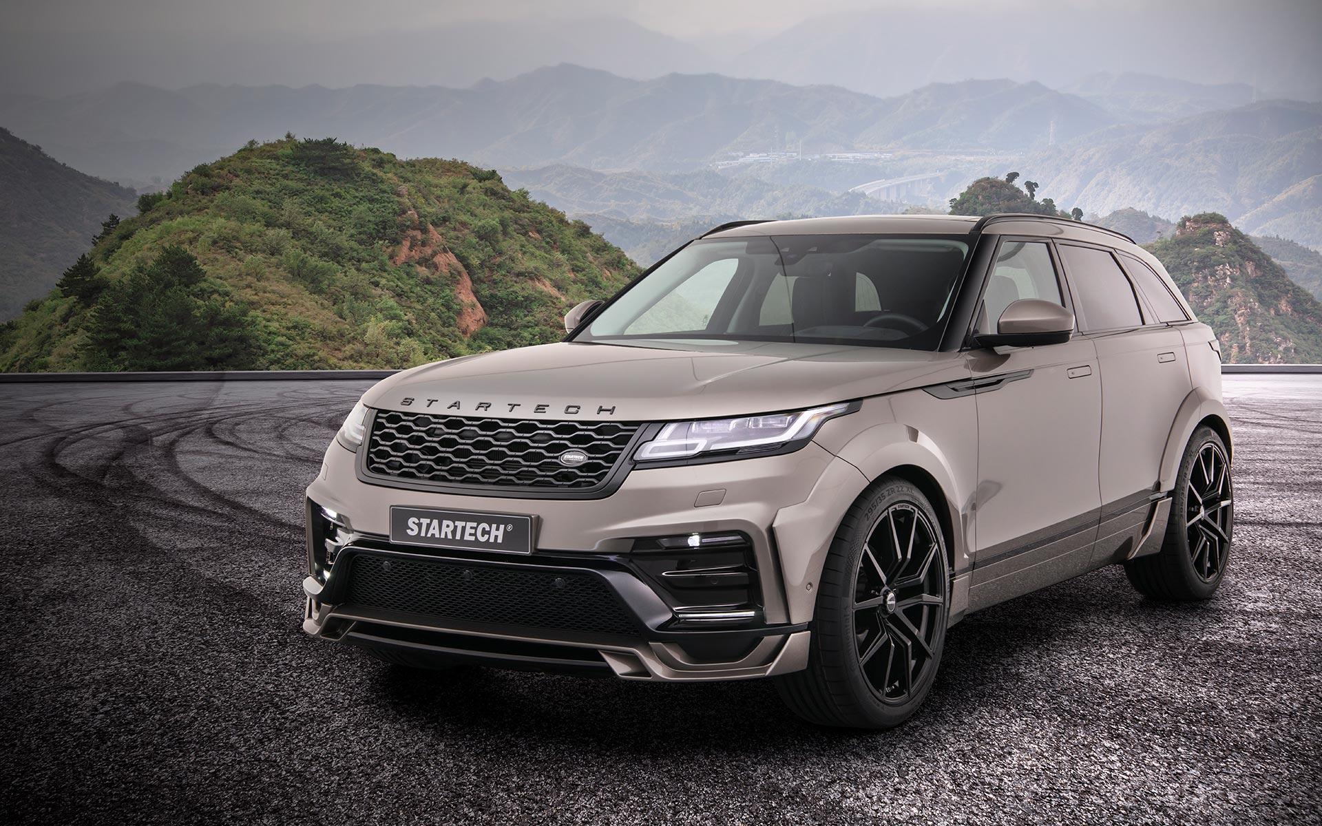 Range Rover Velar Tuning Startech Front Bumper Frontschürze